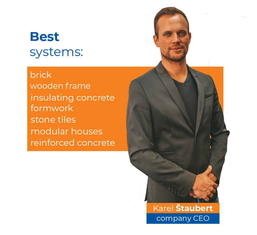 Graphics - showing a list of the best systems within construction options.